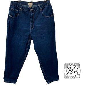 Cotton Ginny Dark wash mom jeans 18P